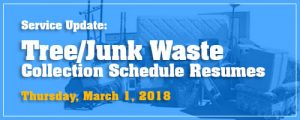 Heavy Trash Resumes on Regular Schedule in March