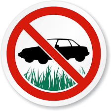 Notice of Application for a Prohibited Yard Parking Requirement Area