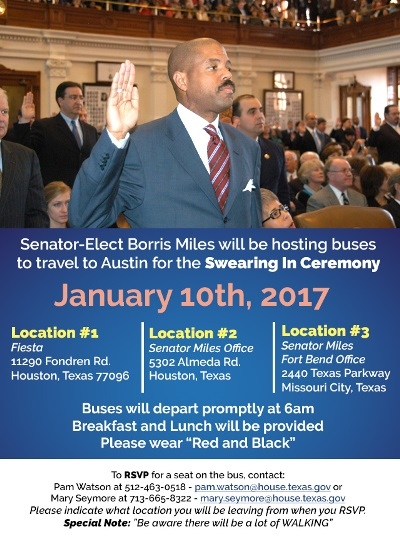 Texas Senate Swearing In Ceremony – Sharpstown Civic Association