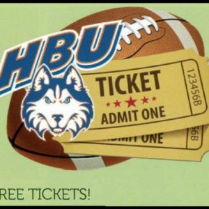 HBU Free Tickets